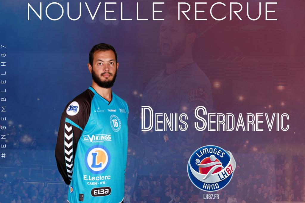 Denis Serdarevic recrue