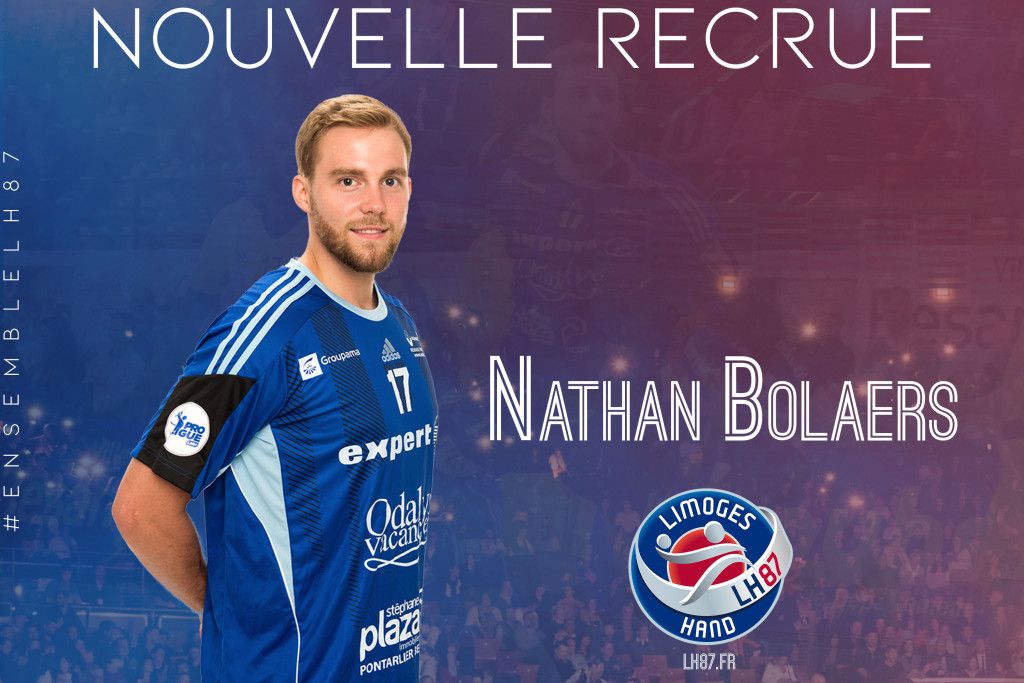 Nathan Bolaers recrue