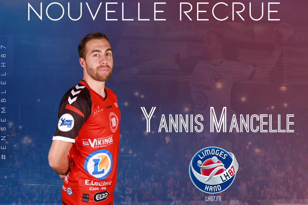 Yannis mancelle recrue